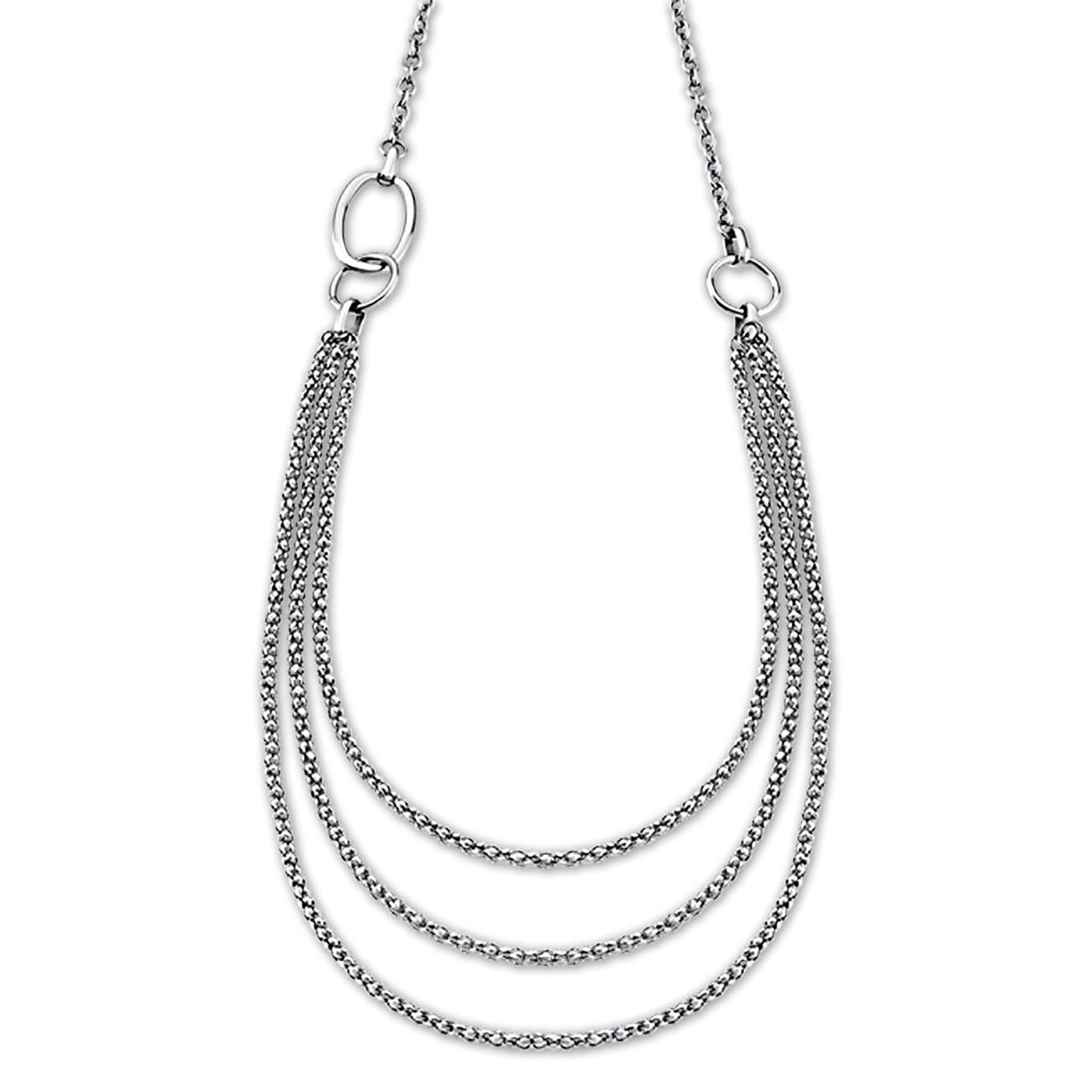 LOTUS Style Halskette Damen Edelstahl silber LS1817-1/1 Woman JLS1817-1-1