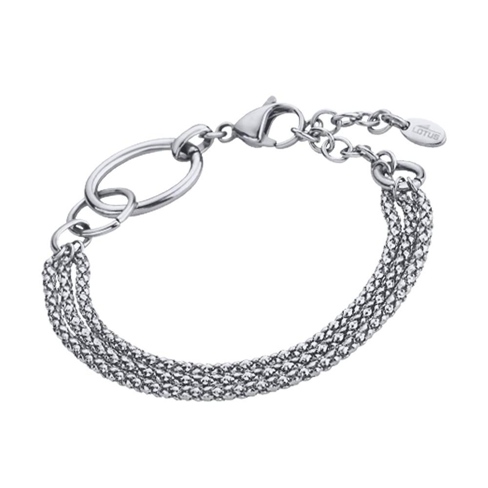 LOTUS Style Armband Damen Edelstahl silber LS1817-2/1 Woman Basic JLS1817-2-1