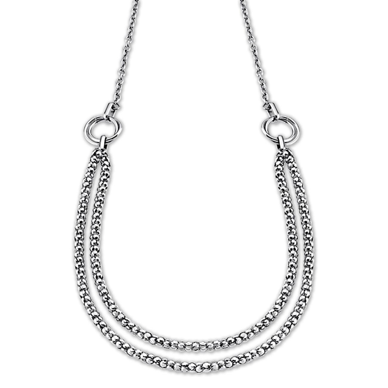 LOTUS Style Halskette Damen Edelstahl silber LS1818-1/1 Woman JLS1818-1-1