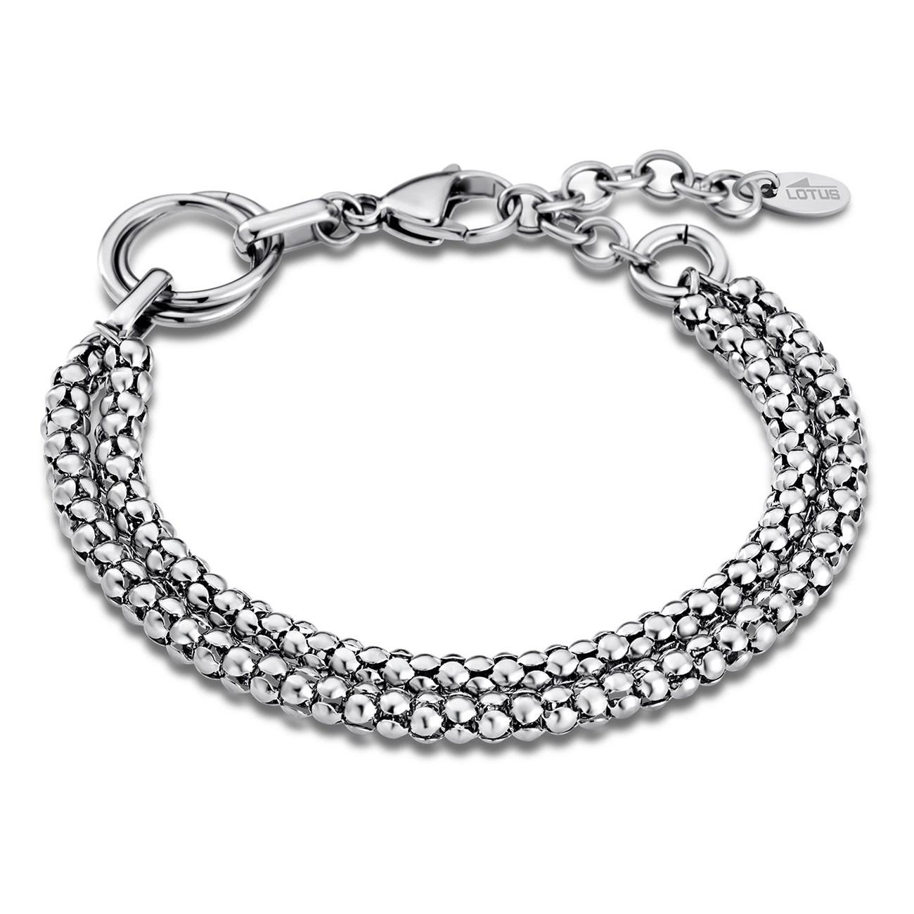LOTUS Style Armband Damen Edelstahl silber LS1818-2/1 Woman Basic JLS1818-2-1