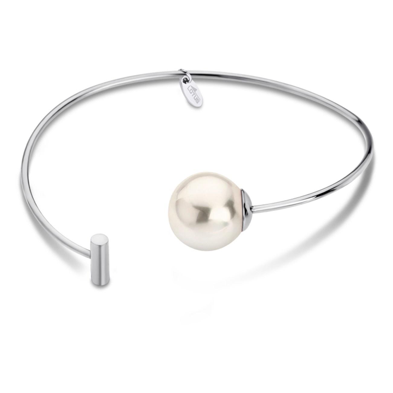 LOTUS Style Armband Damen Armreif Perle LS1822-2/1 Edelstahl JLS1822-2-1