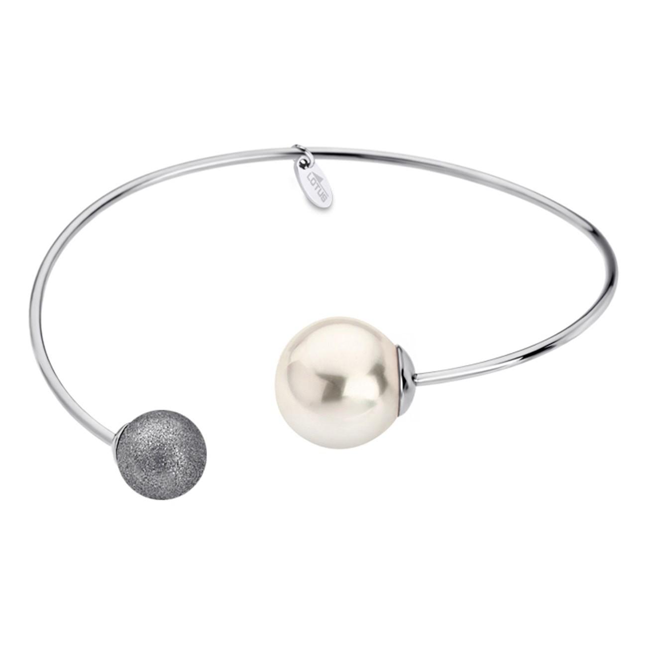 LOTUS Style Armband Damen Armreif Perle LS1823-2/1 Edelstahl JLS1823-2-1