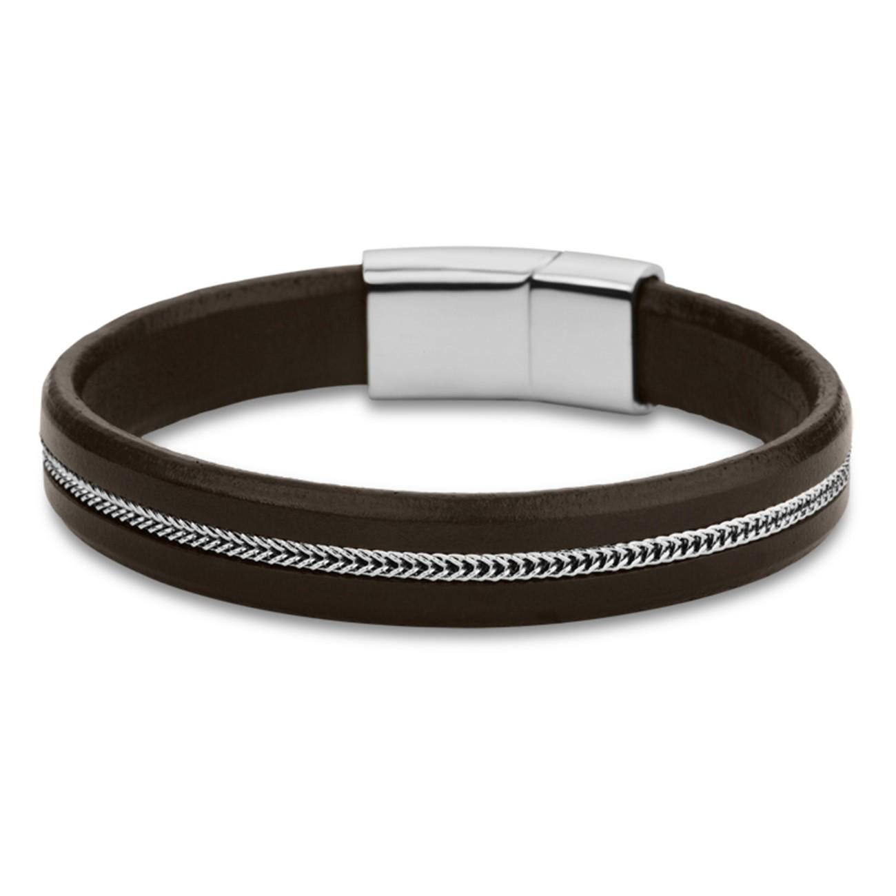 LOTUS Style Armband Herren Leder braun LS1830-2/1 Edelstahl JLS1830-2-1