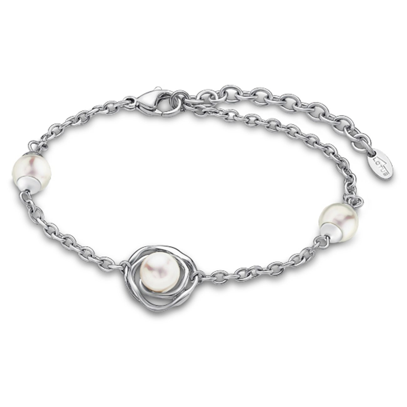 Lotus Style Armband Damen Perle silber LS1855-2/1 Privilege JLS1855-2-1