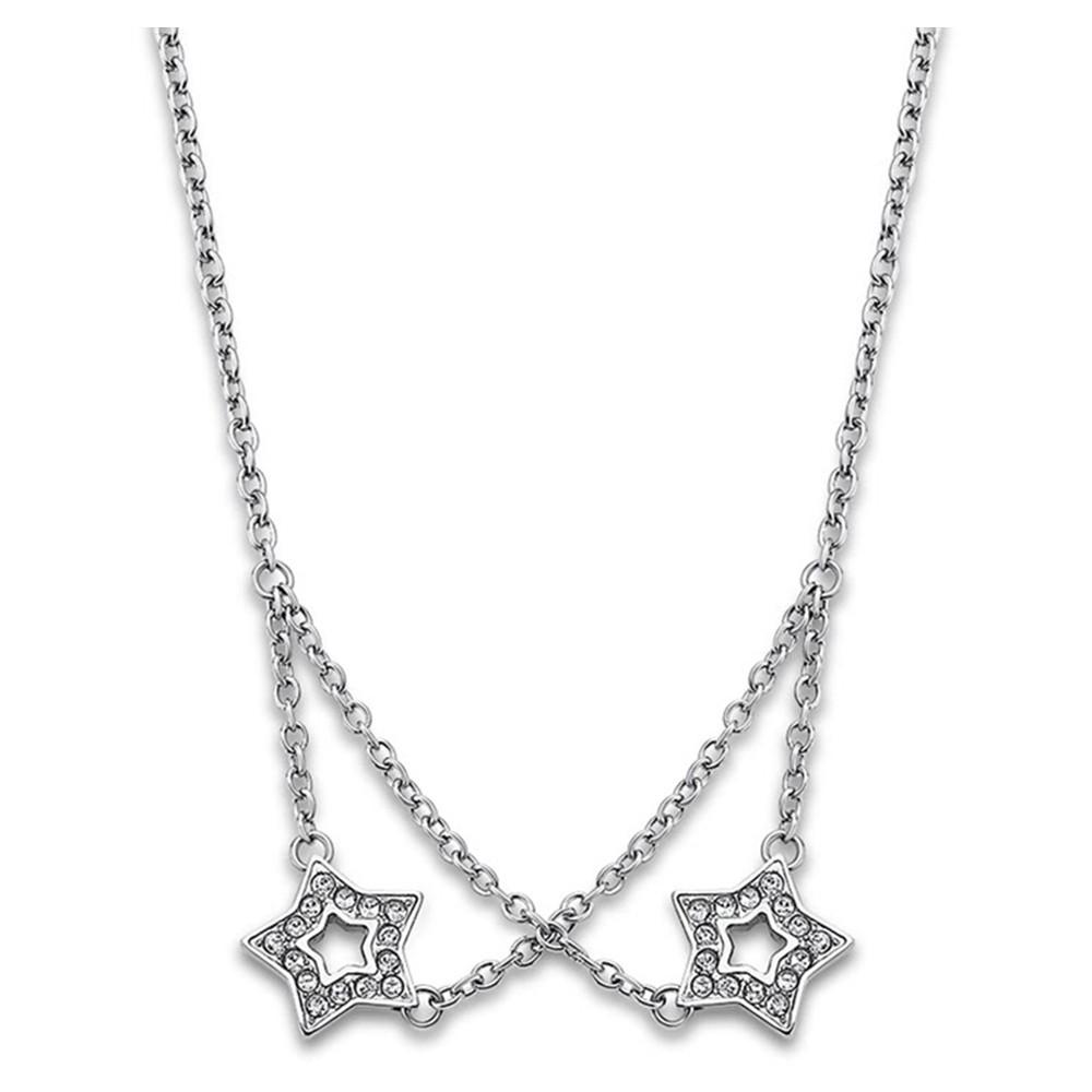 Lotus Style Halskette Damen Edelstahl silber LS1885-1/1 Urban JLS1885-1-1