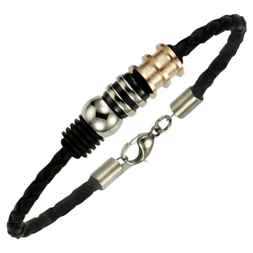KISMA Schmuck Armband Edelstahl Stahlarmband bicolor KIA0130-003-19
