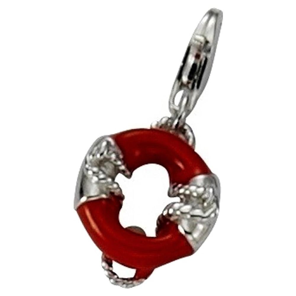 KISMA Schmuck Charms Anhänger Rettungsring Silber 925 KIC0118-004