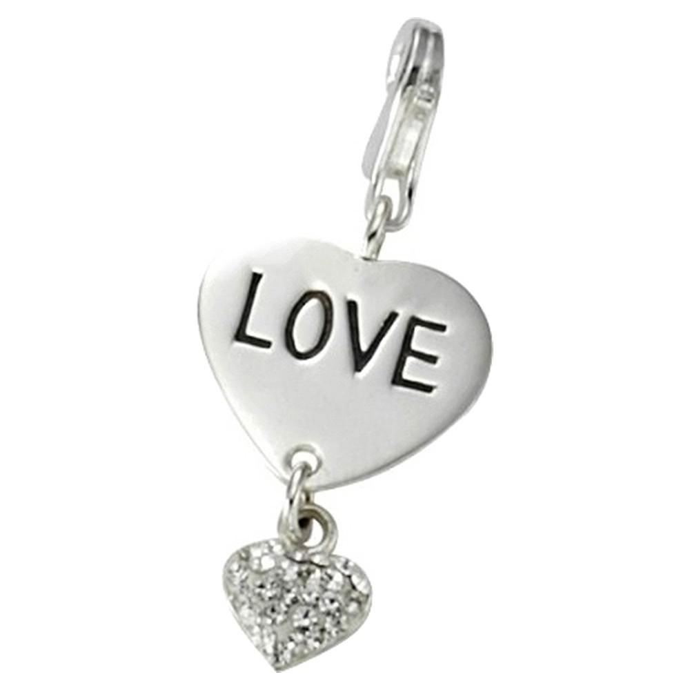 KISMA Schmuck Charms Anhänger Love Silber 925 Charm KIC0118-024