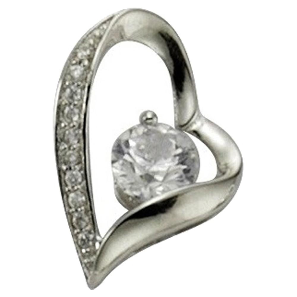KISMA Schmuck Anhänger Herz für Ketten Sterling Silber 925 KIH0105-008