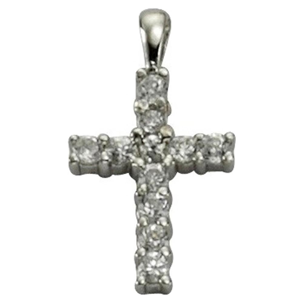 KISMA Schmuck Ketten-Anhänger Kreuz Sterling Silber 925 KIH0105-011