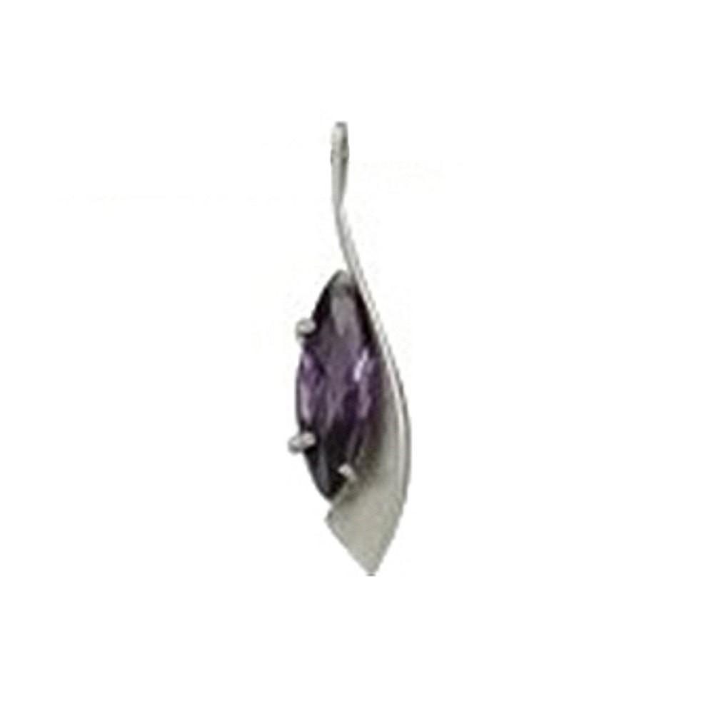 KISMA Schmuck Anhänger für Ketten lila Sterling Silber 925 KIH0108-012