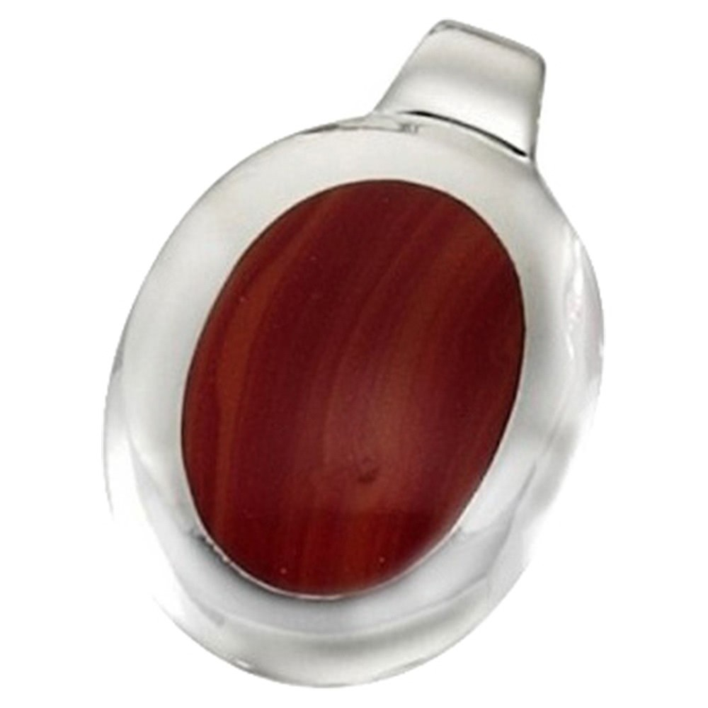 KISMA Schmuck Anhänger für Ketten rot Sterling Silber 925 KIH0111-014