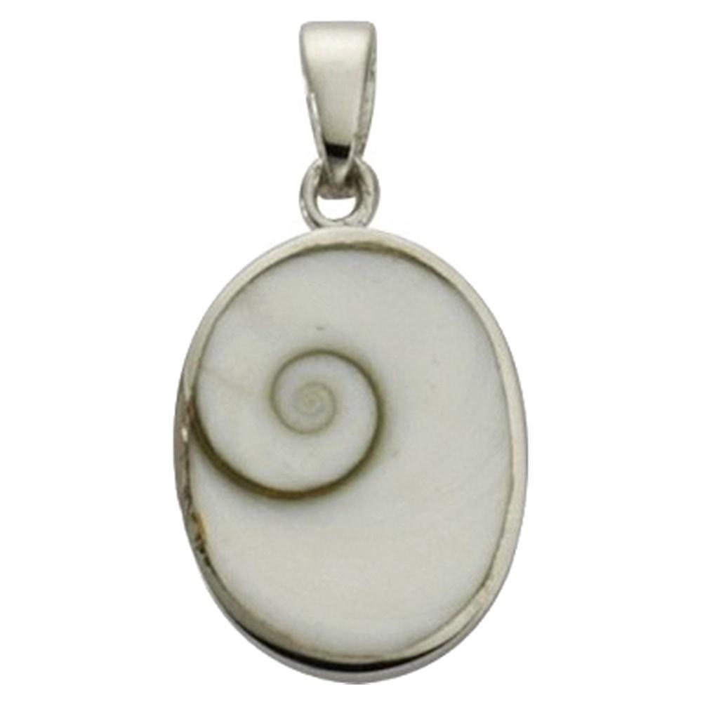 KISMA Schmuck Anhänger Shivas Eye weiß Sterling Silber 925 KIH0113-003
