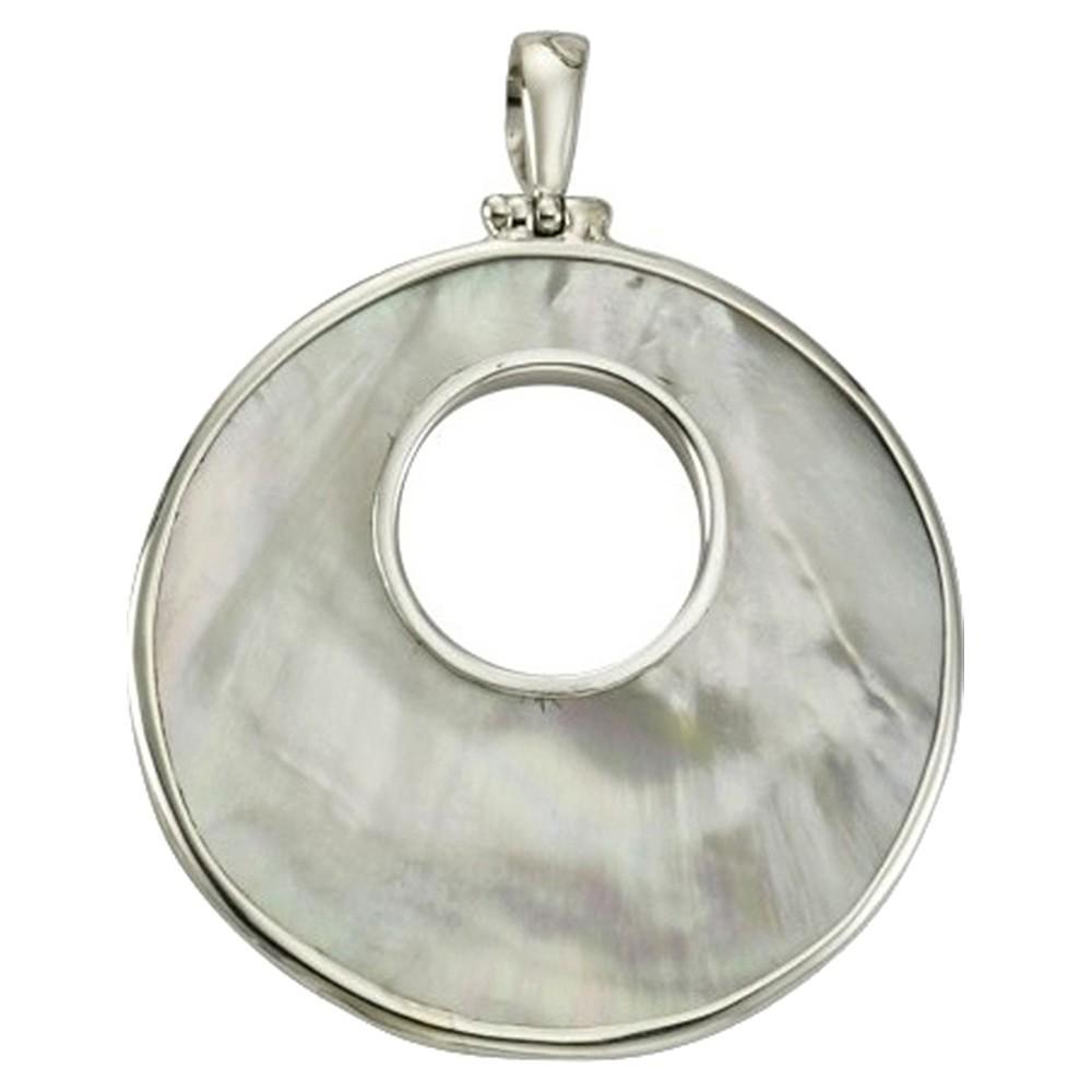 KISMA Schmuck Ketten Anhänger Perlmutt Sterling Silber 925 KIH0113-017