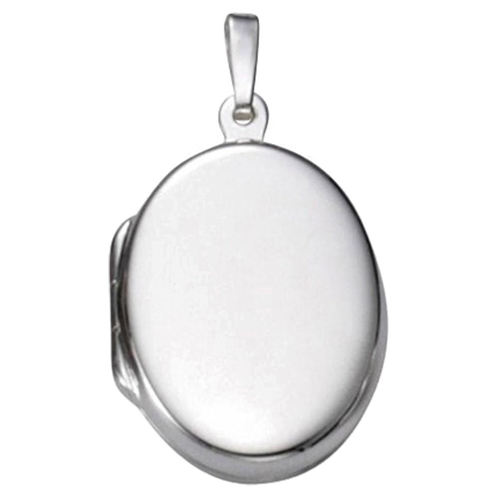 KISMA Schmuck Anhänger für Ketten oval Sterling Silber 925 KIH0120-012