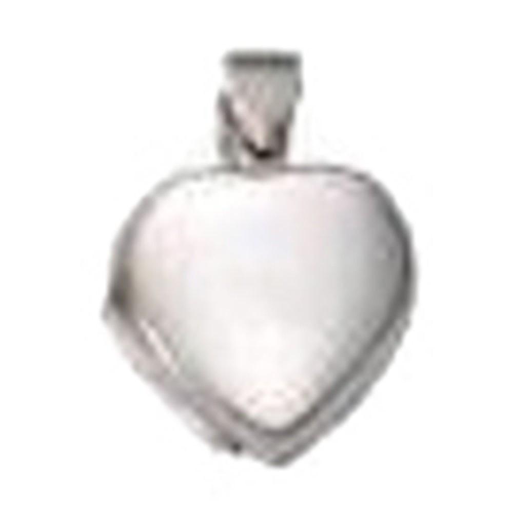 KISMA Schmuck Anhänger für Ketten Herz Sterling Silber 925 KIH0120-014