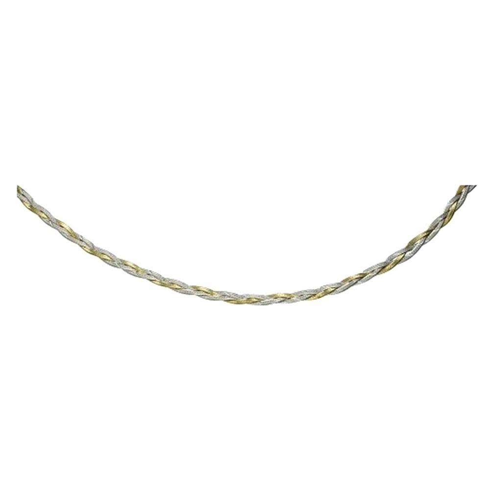 KISMA Schmuck Kette geflochten Sterling Silber 925 KIK0122-001-42
