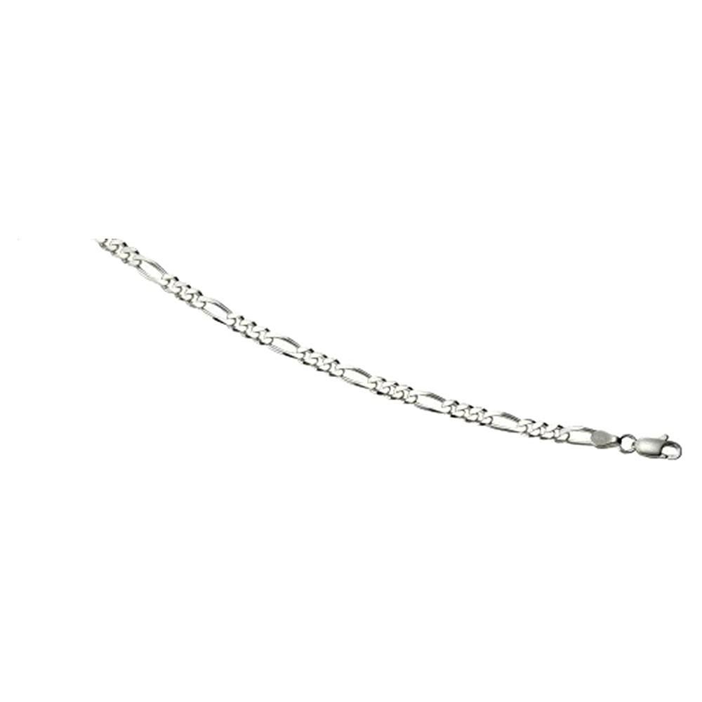 KISMA Schmuck Figaro Kette Sterling Silber 925 KIK0122-012-50