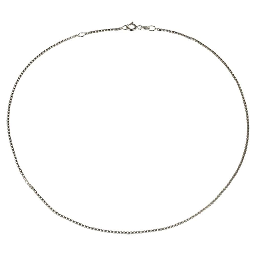 KISMA Collier Venezia-Kette Länge 60cm 925er Silber KIK0134-013-60