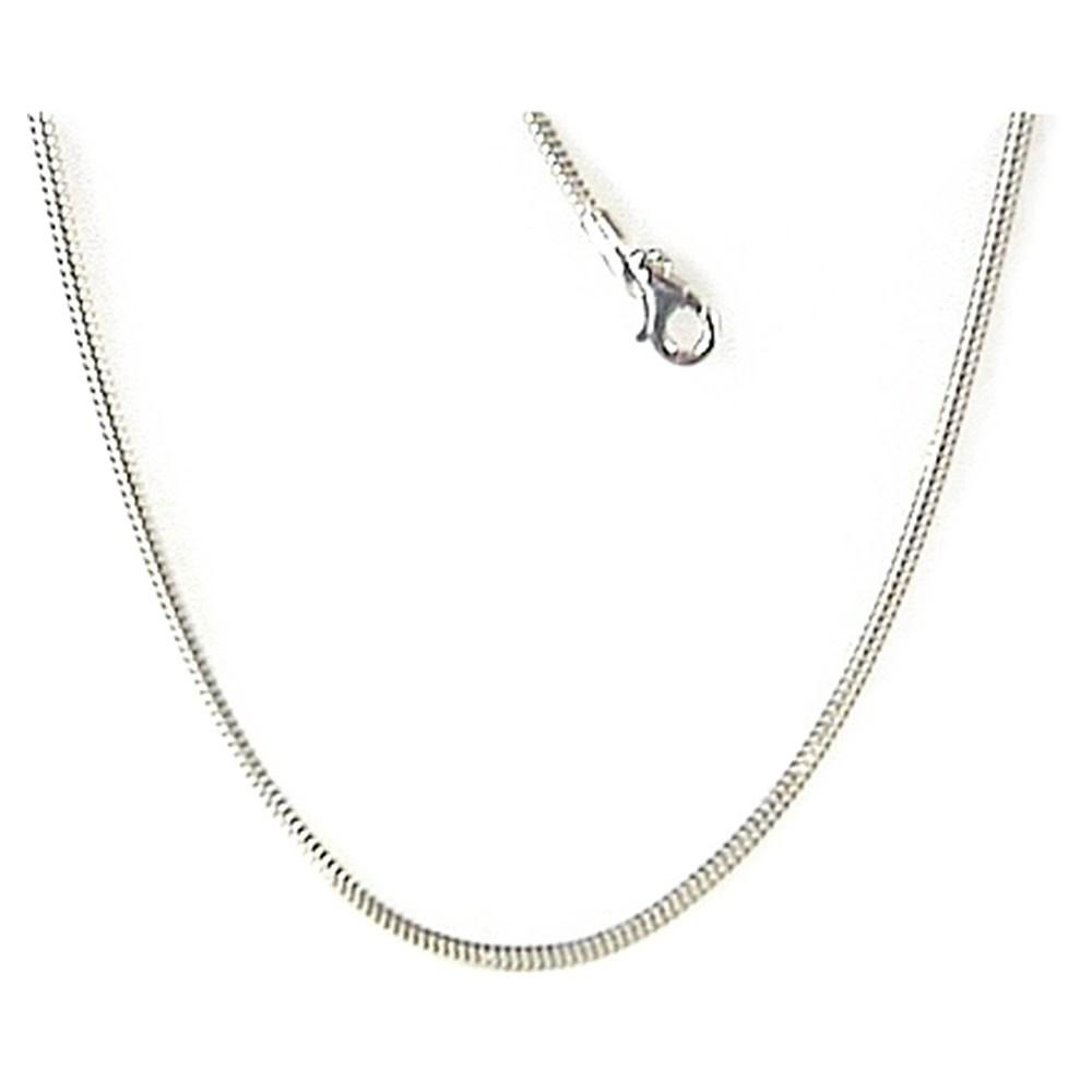 KISMA Collier Schlangen-Kette Länge 50cm 925er Silber KIK0134-018-50