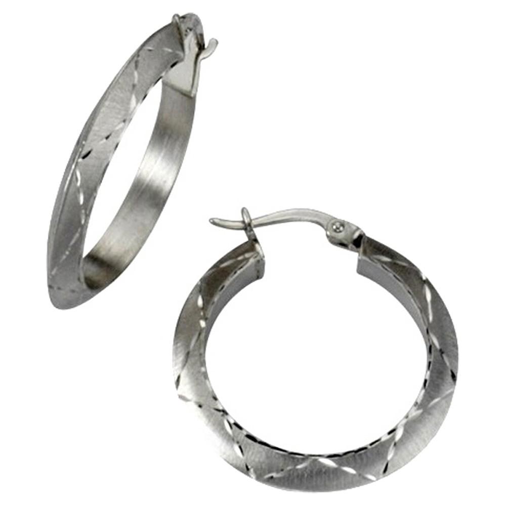 KISMA Schmuck Creolen Ohrringe Sterling Silber 925 KIO0103-008