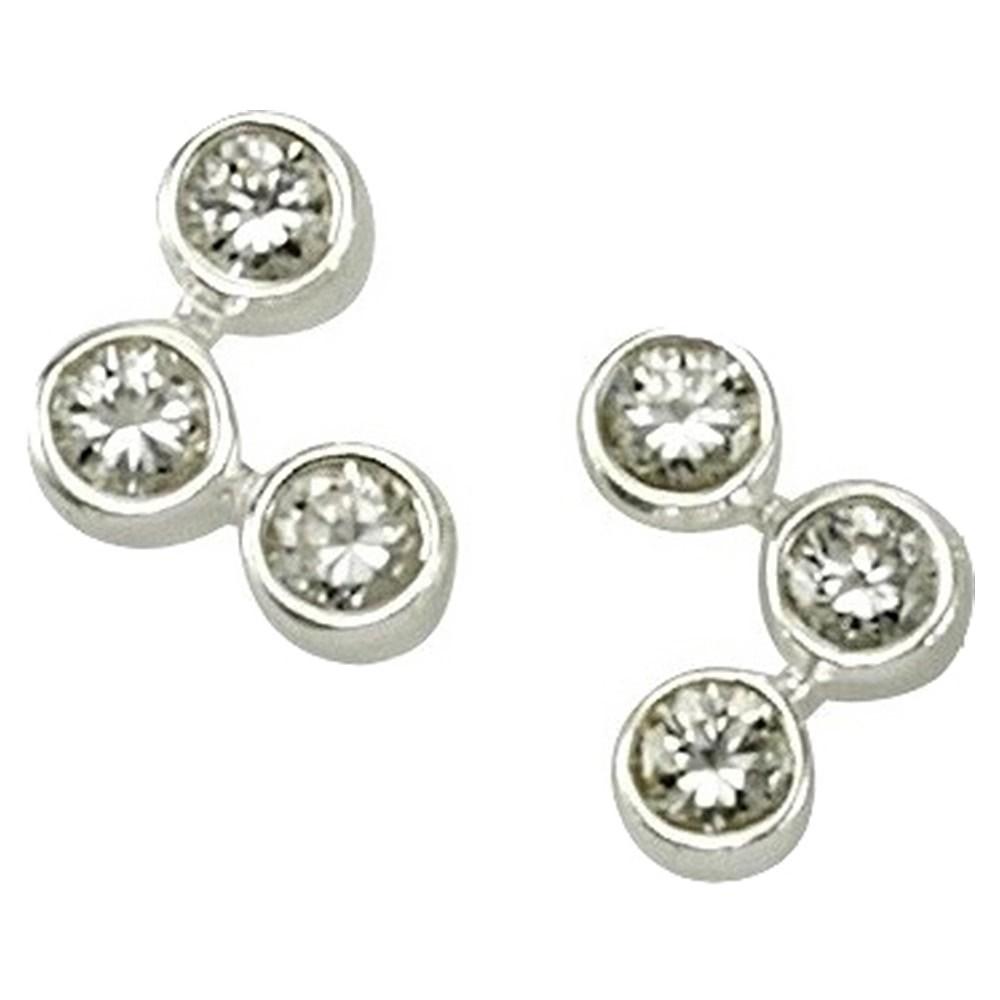 KISMA Schmuck Ohrstecker Ohrringe Sterling Silber 925 KIO0107-019