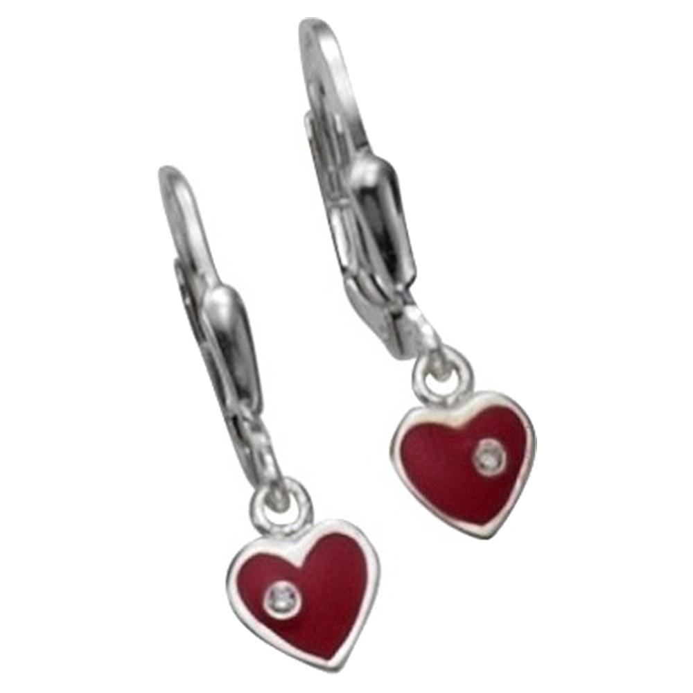 KISMA Schmuck Ohrhänger Herz Ohrringe Sterling Silber 925 KIO0121-001