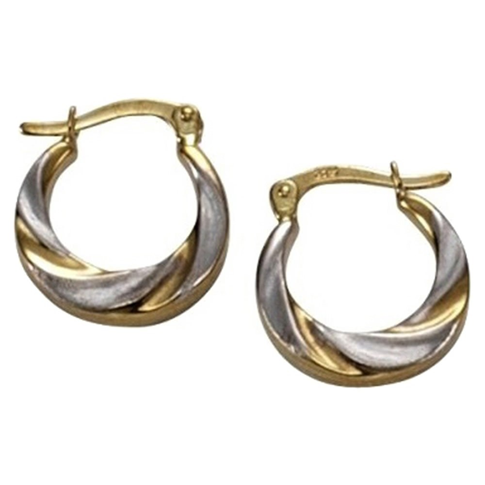 KISMA Schmuck Creolen Ohrringe Gold 375 KIO0125-006
