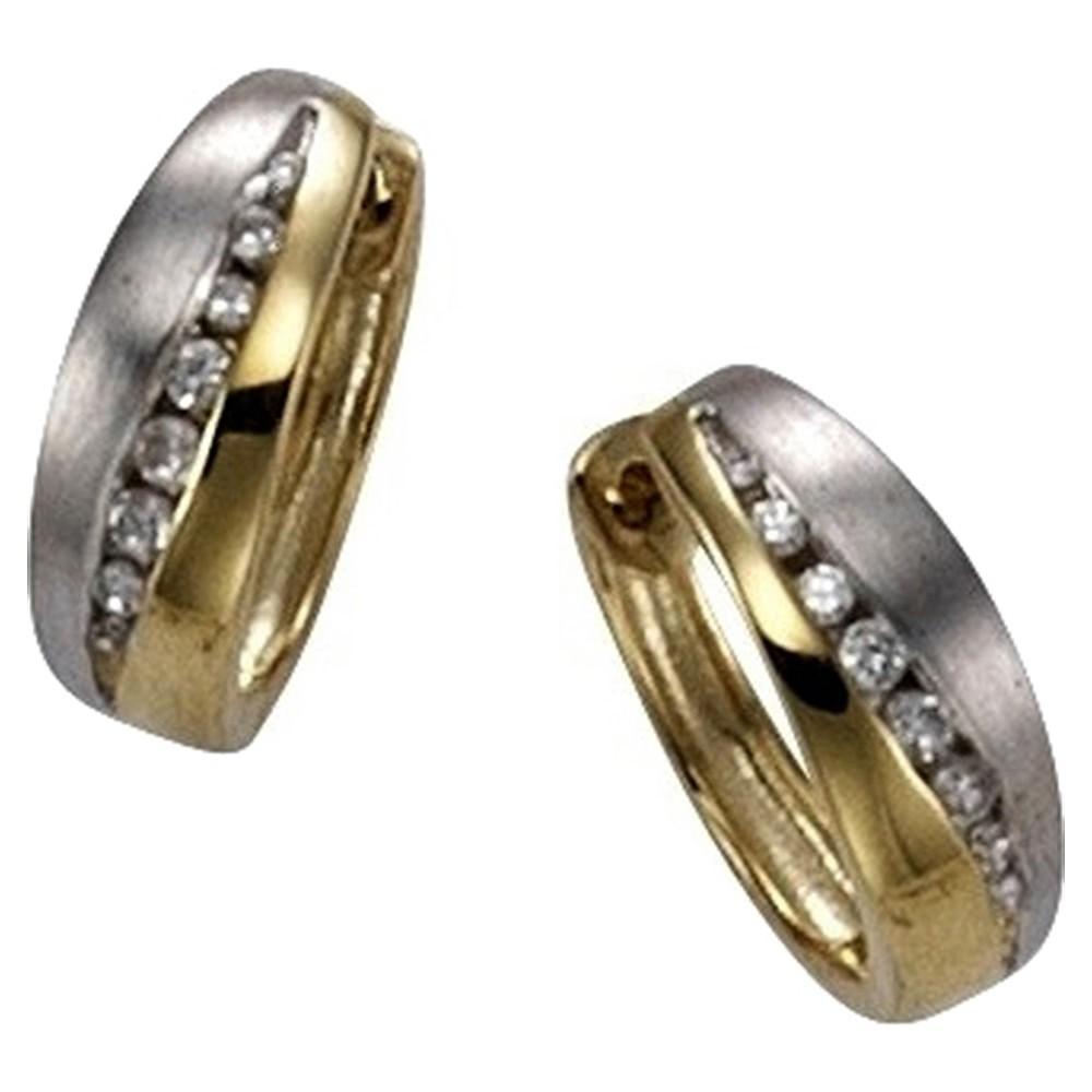 KISMA Schmuck Creolen Ohrringe Gold 333 KIO0125-012