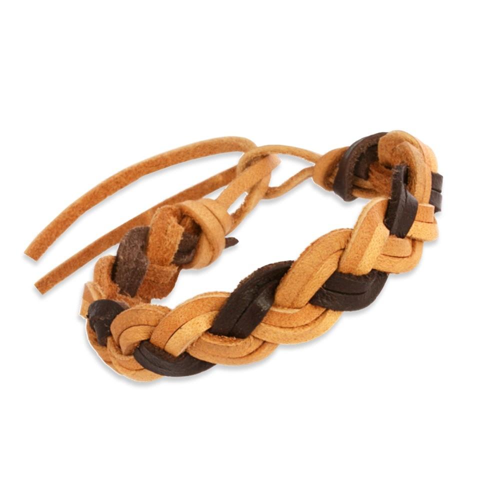 Teenie-Weenie Kinder Leder-Armband braun Teenie-Weenie Schmuck LAC128BK