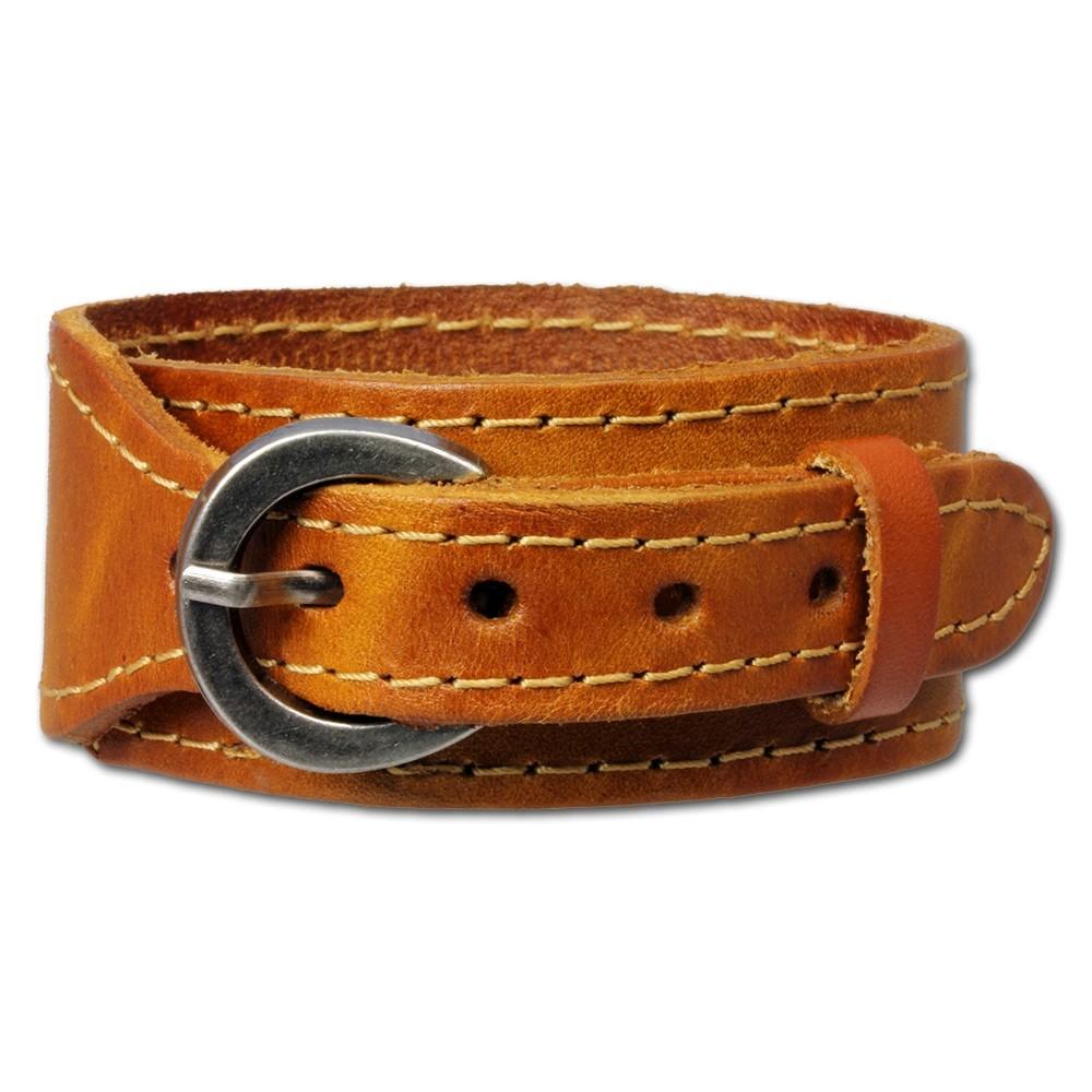 SilberDream Lederarmband braun natur Leder Armband LAP513N
