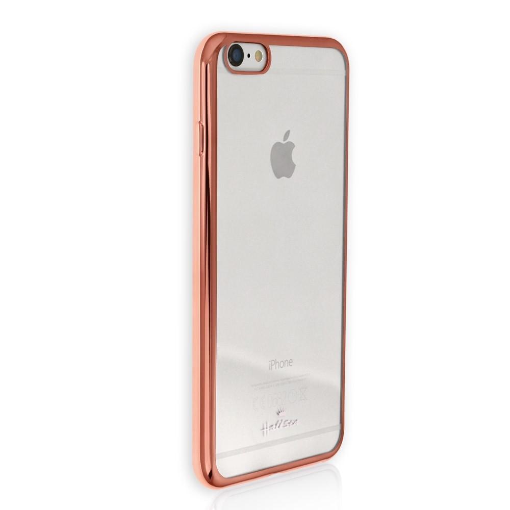 Handyhülle Kunststoff kupfer iPhone 6 Case PU Schutzhülle DrachenLeder OMG100O