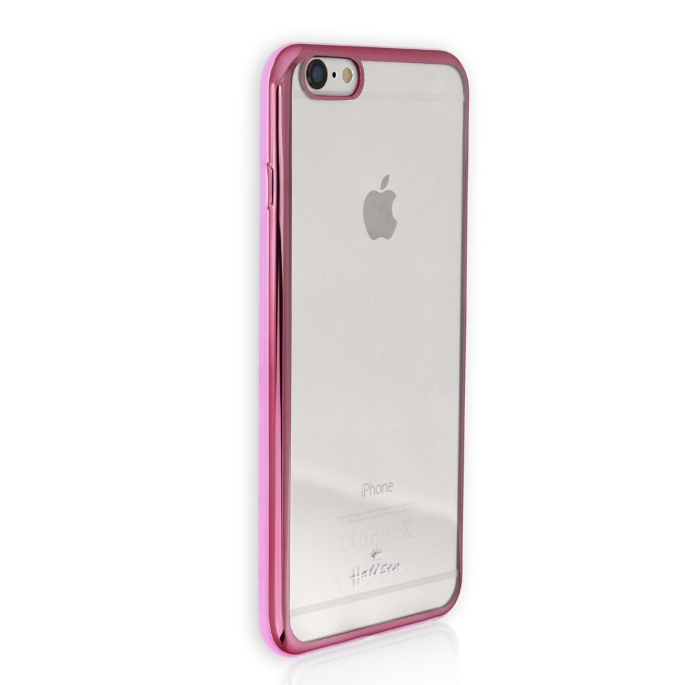 Handyhülle iPhone 6 6S pink Kunststoff Case PU Schutzhülle DrachenLeder OMG100P
