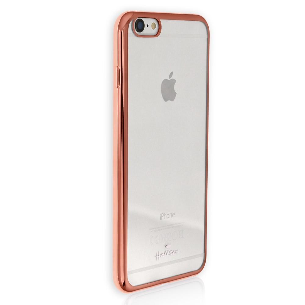 Handyhülle Kunststoff kupfer iPhone 6 Plus Cover PU Case DrachenLeder OMG101O