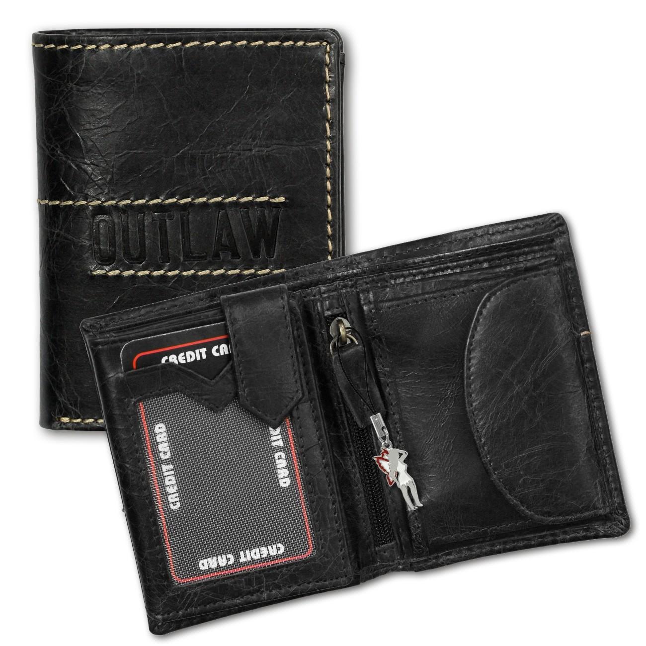 DrachenLeder Geldbörse Leder grau Geldbeutel Portemonnaie Brieftasche OPD106K