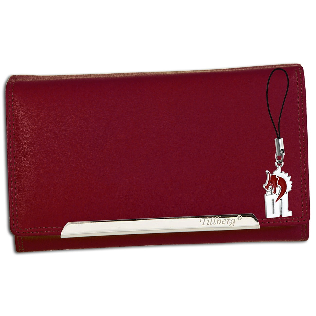 SilberDream Geldbörse pink Kunstleder, glatt-Portemonnaie OPR705P