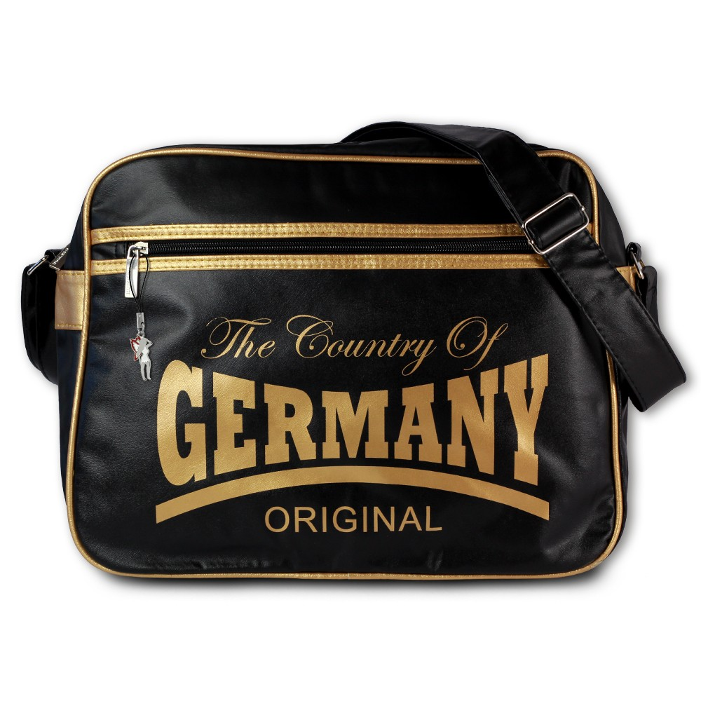 Robin Ruth Umhängetasche The Country of Germany Kunststoff, PVC schwarz OTG100Y