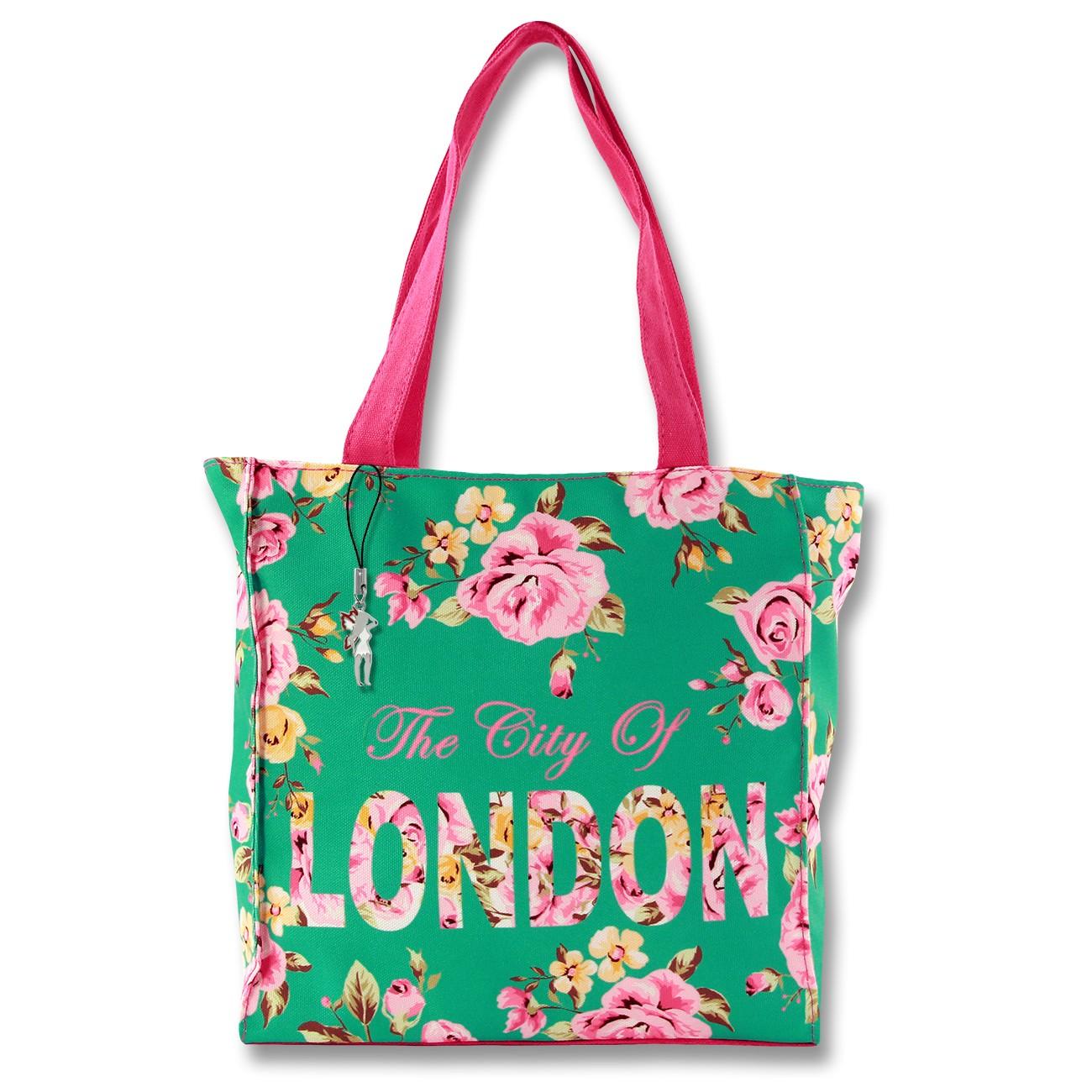 Henkeltasche Schultertasche Canvas pink Damentasche Robin Ruth OTG206G