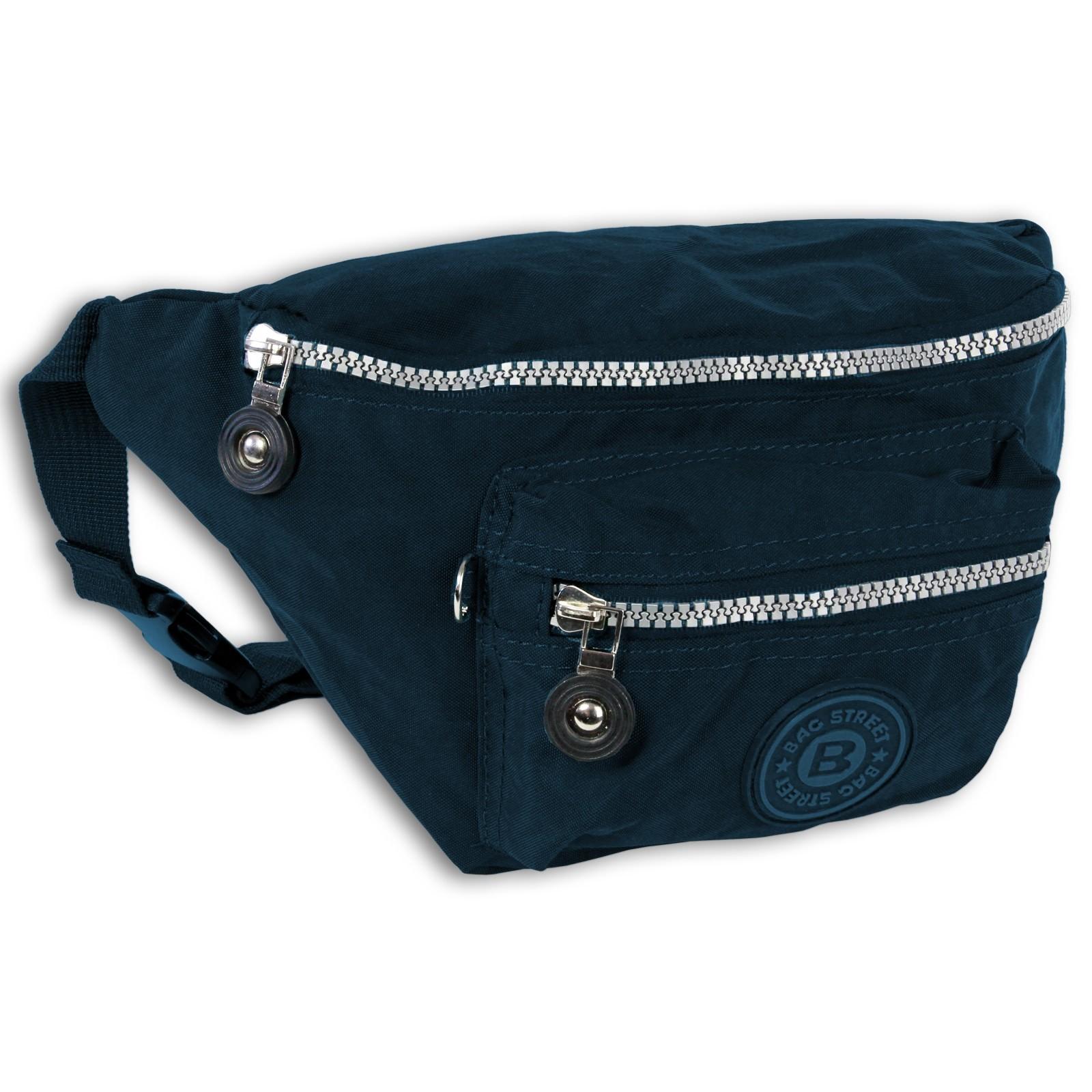 Gürteltasche Nylon blau Hüfttasche Bauchtasche Bag Street OTJ506B
