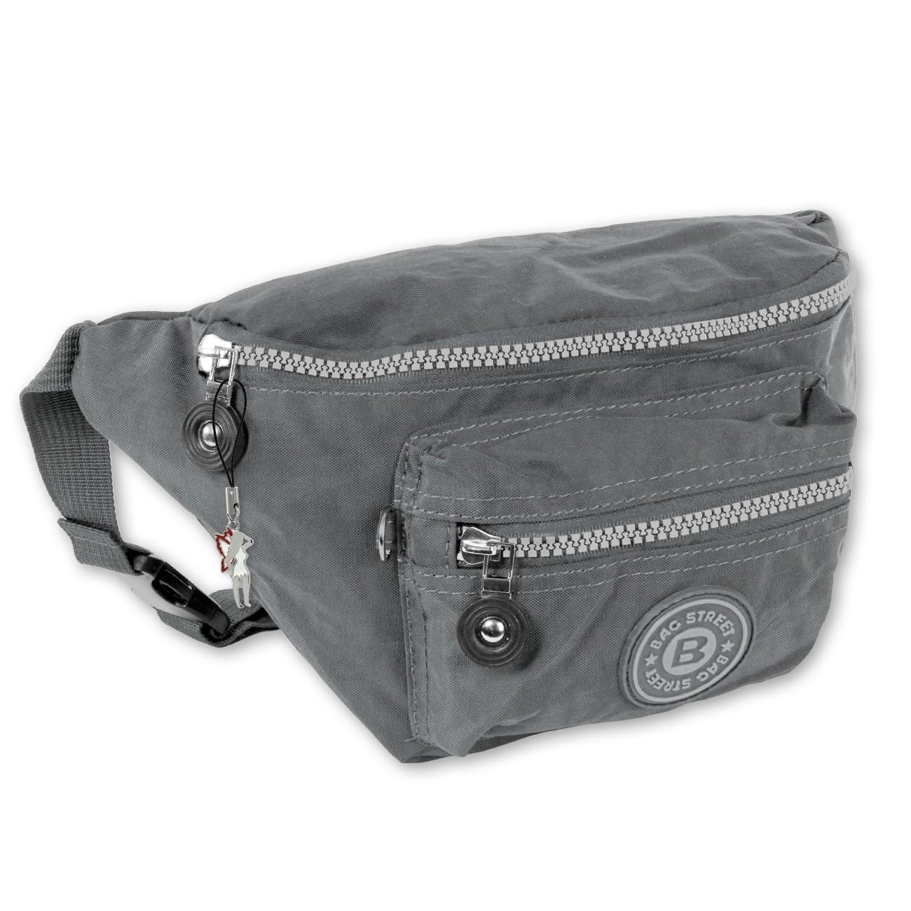 Gürteltasche Nylon grau Hüfttasche Bauchtasche Bag Street OTJ506K