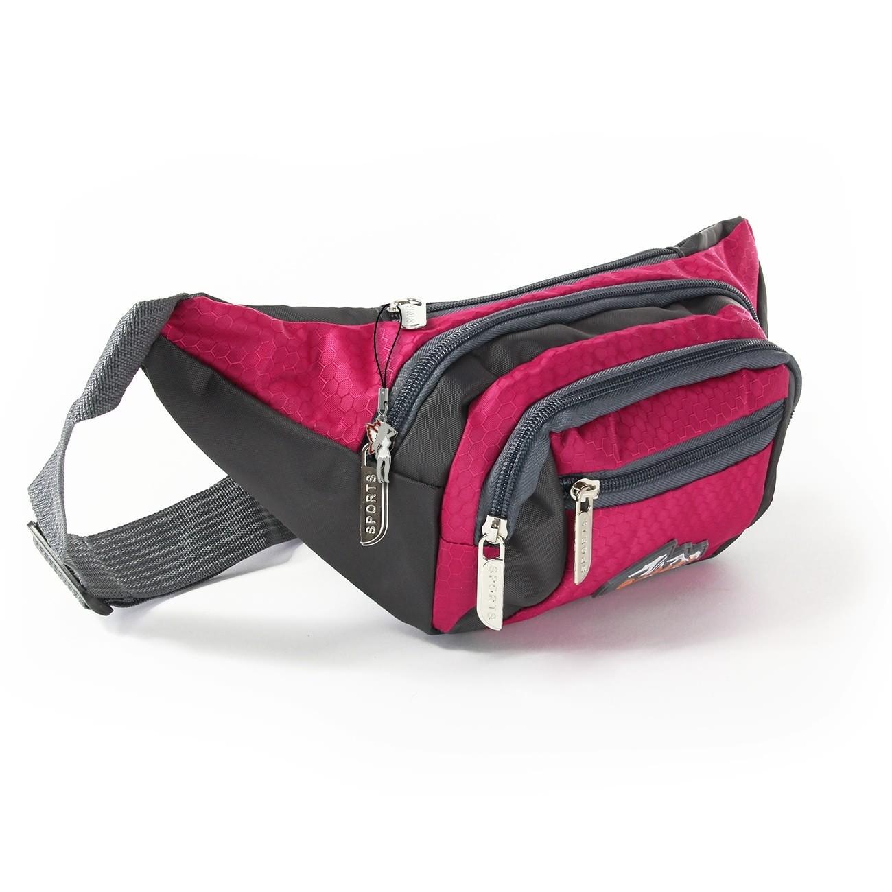Gürteltasche Nylon pink Bauchtasche Hüfttasche Bag Street OTJ507P
