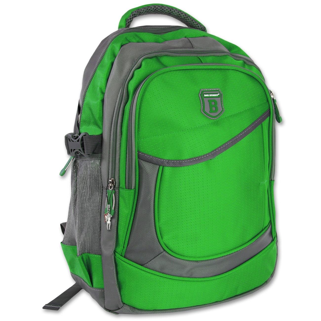 Rucksack Synthetik grün Sportlicher Freizeitrucksack Bag Street OTJ612G