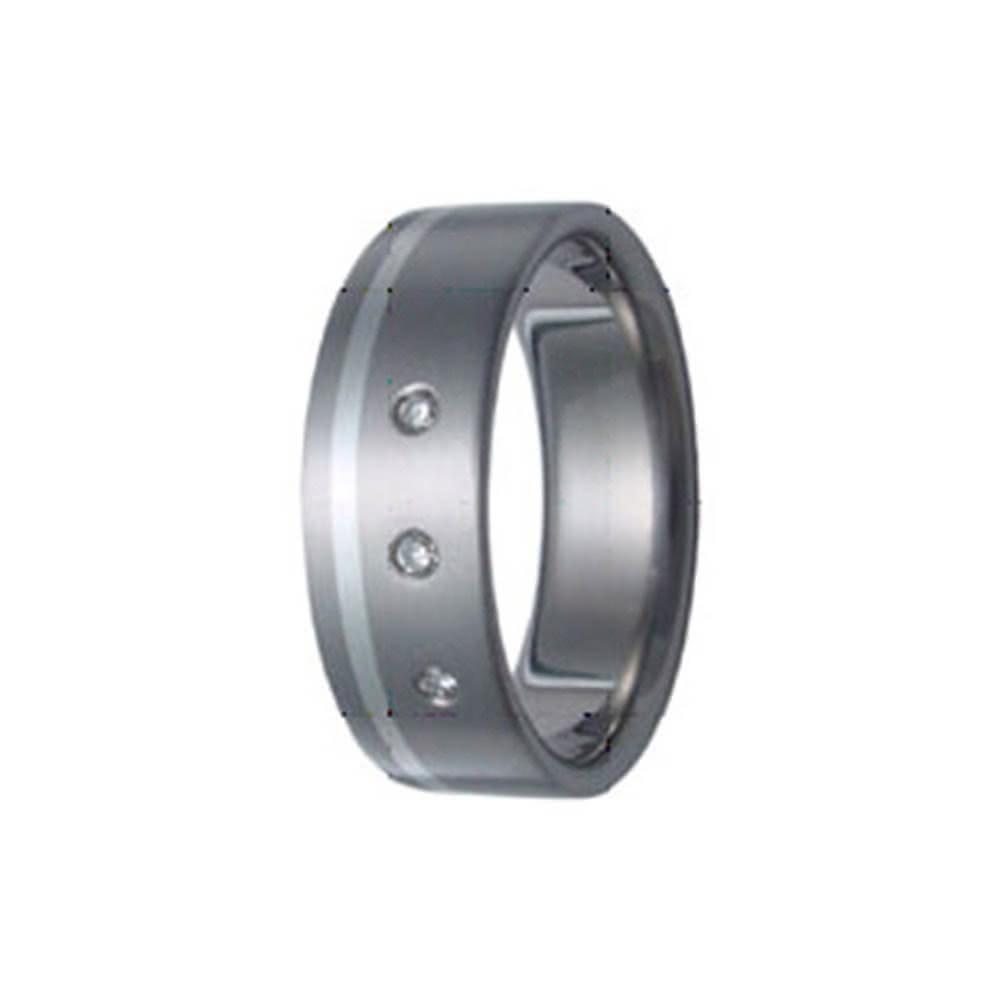 SilberDream Titan Ring Herren Damen Titanringe Gr.19 RXT3019