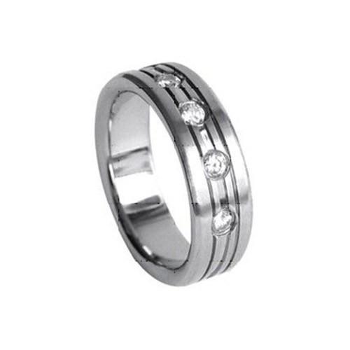 SilberDream Titan Ring Herren Damen Titanringe Gr.19 RXT4049