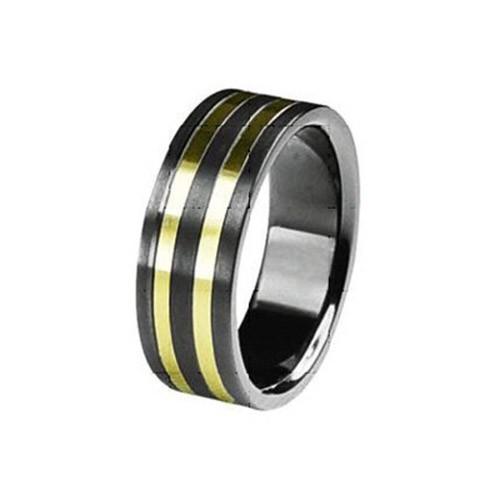 SilberDream Titan Ring Herren Damen Titanringe Gr.20 RXT4310