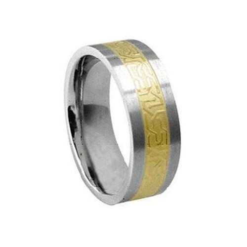 SilberDream Titan Ring Herren Damen Titanringe Gr.21 RXT4441