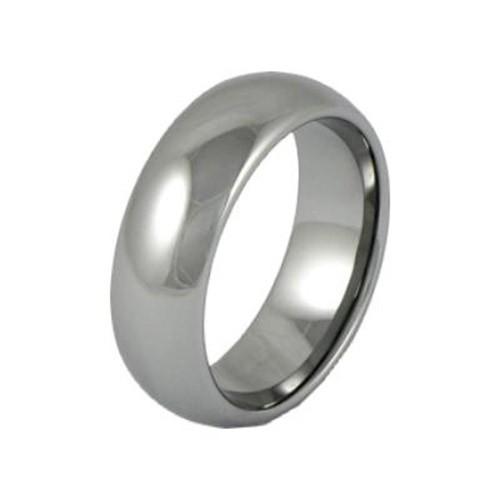 SilberDream Wolfram Ring Gr.20mm Herren Damen Schmuck RXW018
