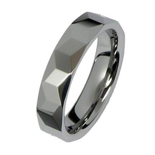 SilberDream Wolfram Ring Gr.20mm Herren Damen Schmuck RXW068