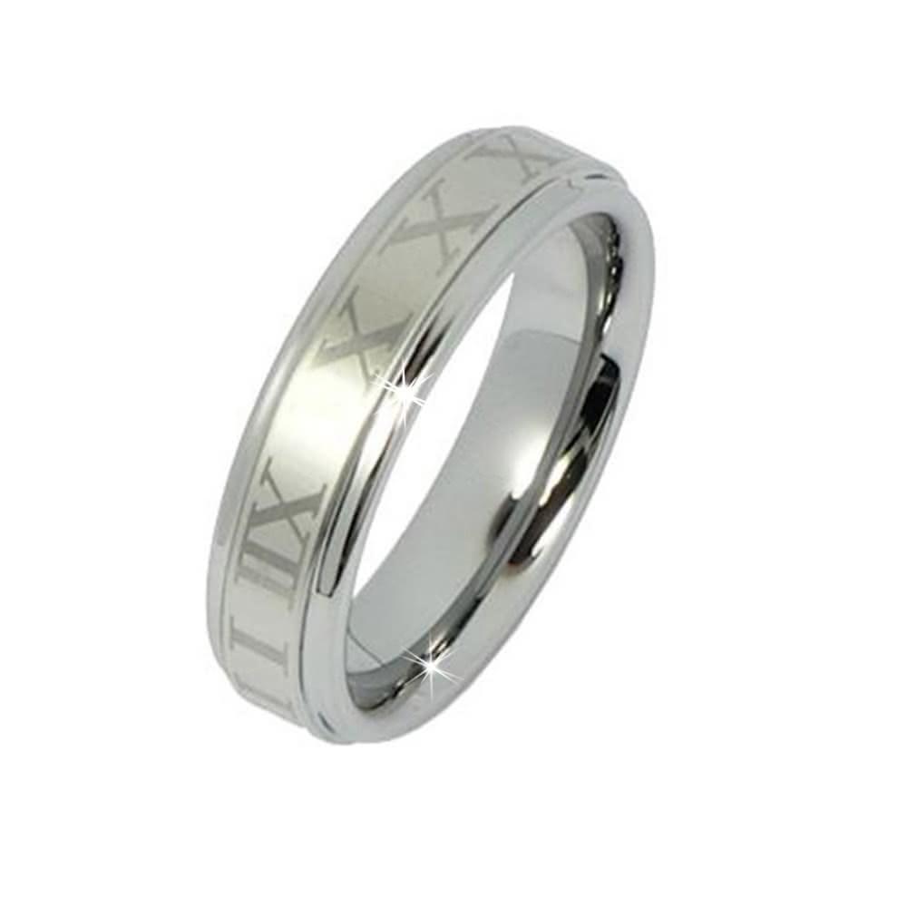 SilberDream Wolfram Ring Gr.21 Herren Damen Schmuck RXW1801