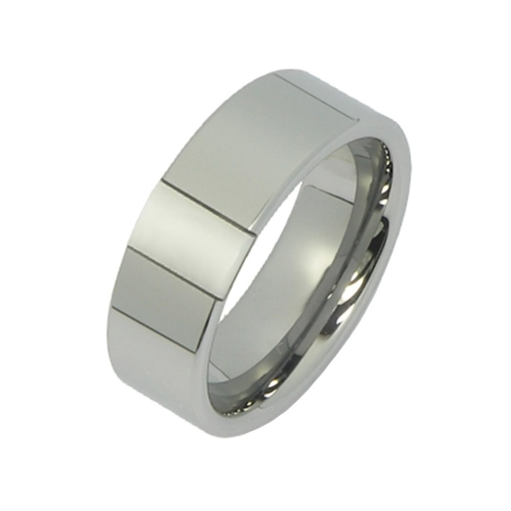 SilberDream Wolfram Ring Gr.17 Herren Damen Schmuck RXW2277